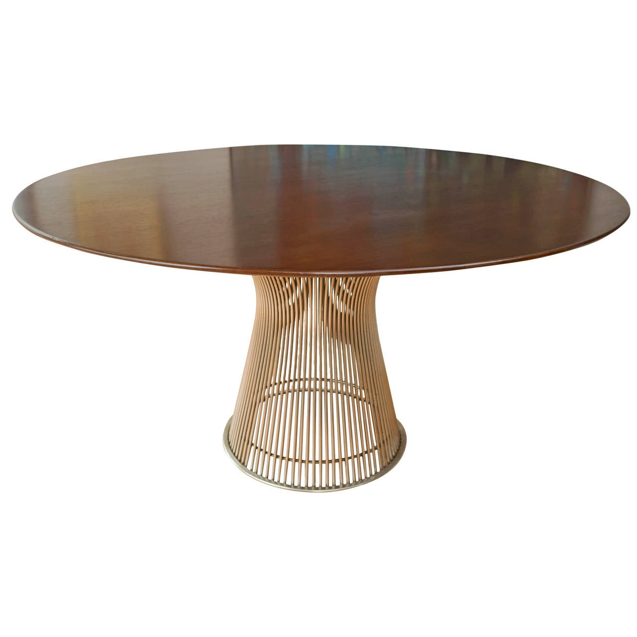 Platner Dining Table By Warren Platner For Knoll At 1stdibs