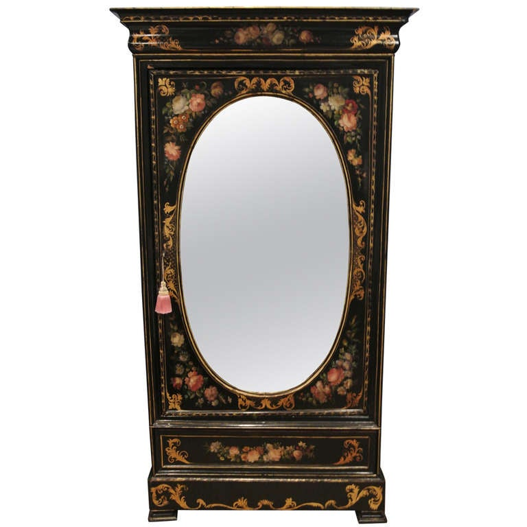 Victorian Painted Armoire Saturday Sale At 1stdibs
