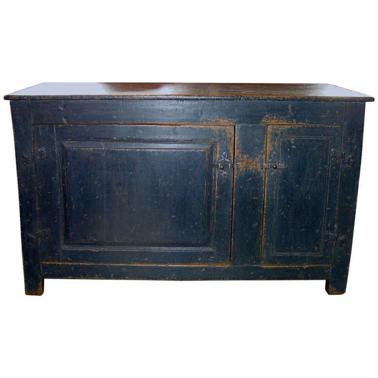 Primitive Buffet from Quebec at 1stdibs