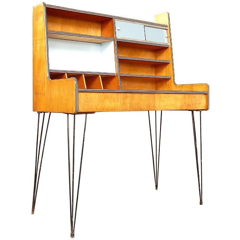 Very Rare Dutch Design 1950 39 S Desk At 1stdibs