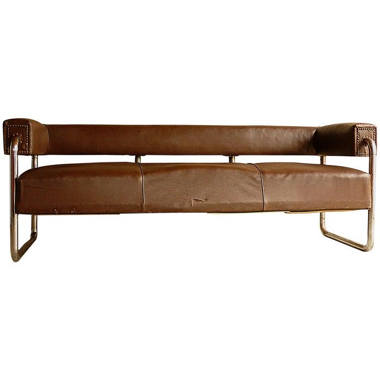 unique bauhaus sofa at 1stdibs