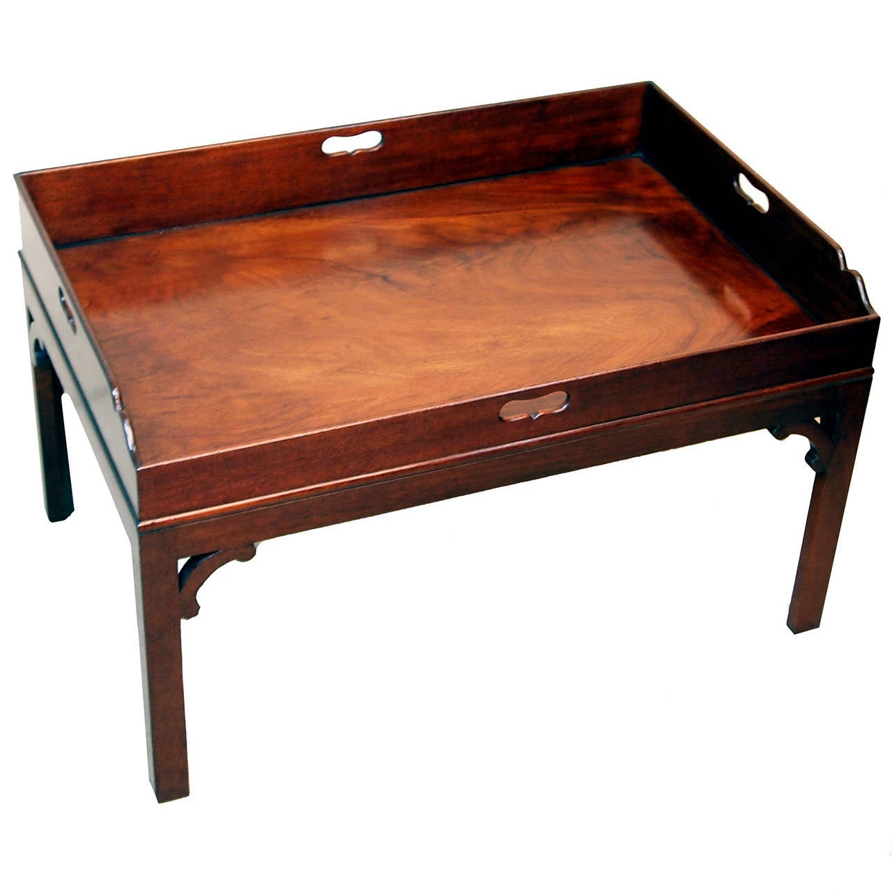 antique georgian mahogany butlers tray table at 1stdibs. Black Bedroom Furniture Sets. Home Design Ideas