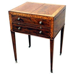 Antique Georgian Mahogany Dressing Table