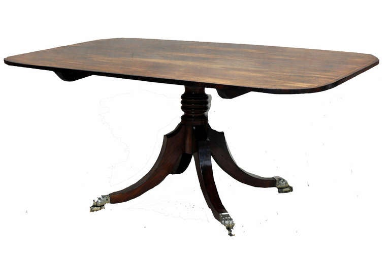English Antique Regency Period Rosewood Breakfast Table For Sale