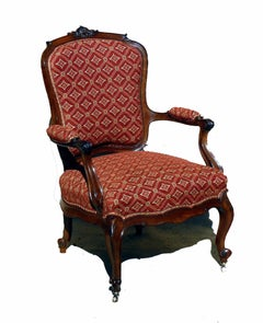 English 19th Century Hepplewhite Style Armchair