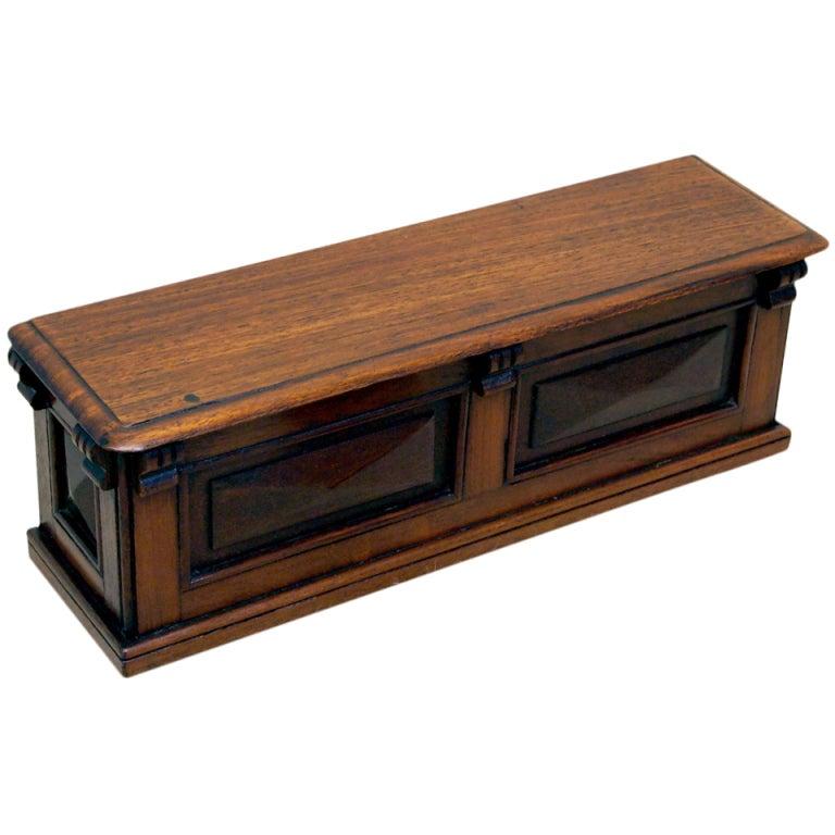 Antique Victorian Miniature Shop Counter For Sale