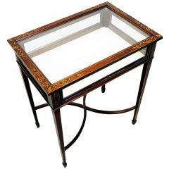 Antique Mahogany Bijouterie Table