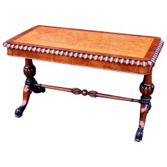 Antique 19th Century Library Table