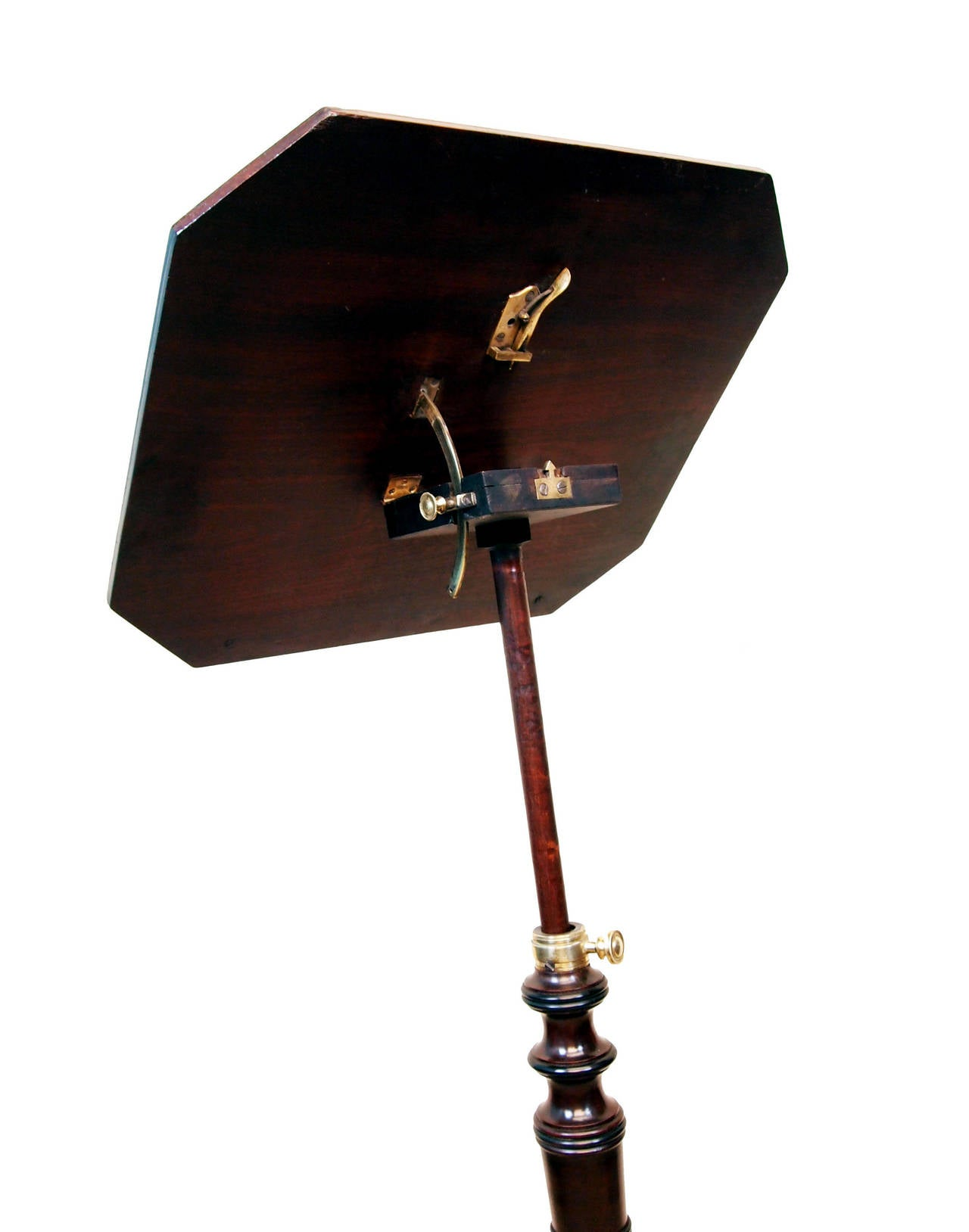 antique georgian mahogany music stand or reading table for sale at 1stdibs. Black Bedroom Furniture Sets. Home Design Ideas