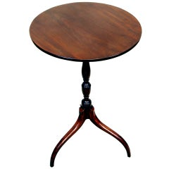 English Regency Mahogany Antique Wine Table