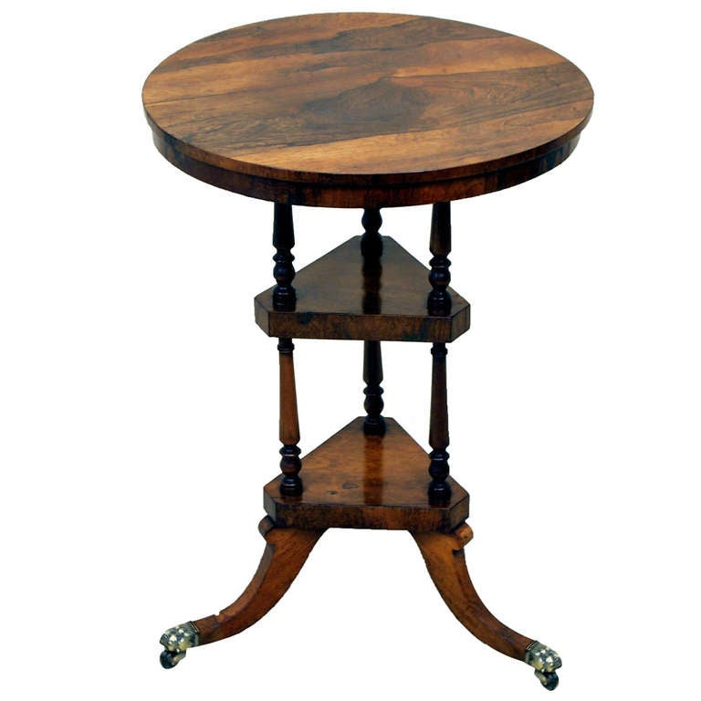 Antique regency rosewood wine table at 1stdibs - Archives departementales 33 tables decennales ...