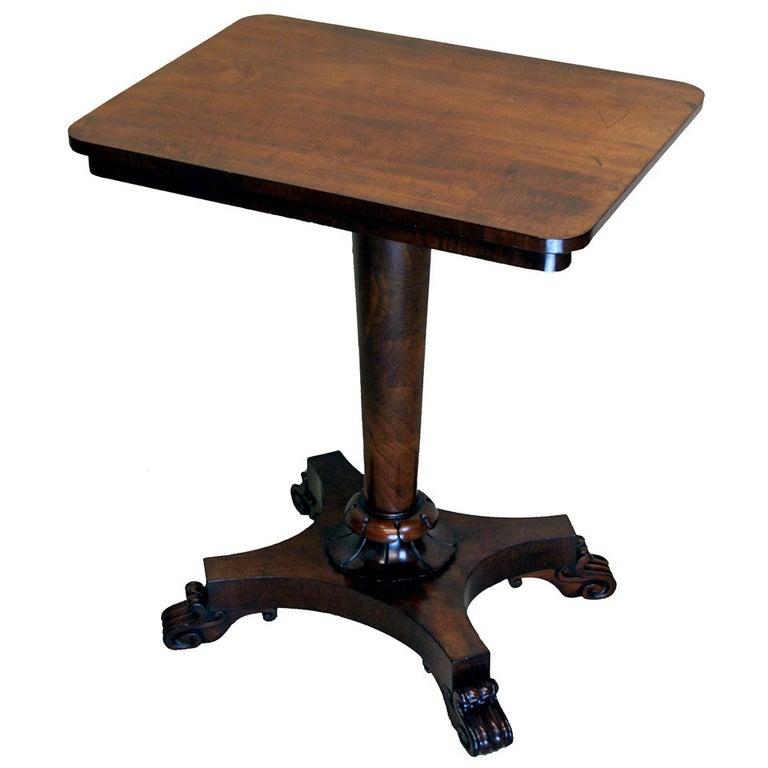 Mahogany 18th Century Lamp Table