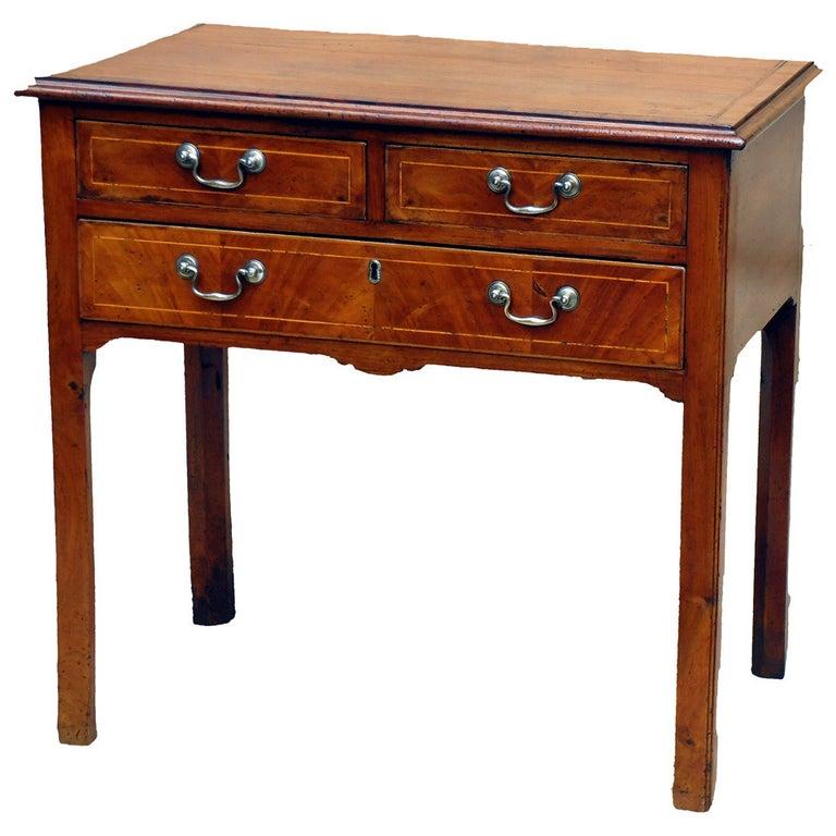 18th Century Walnut Side Table Lowboy