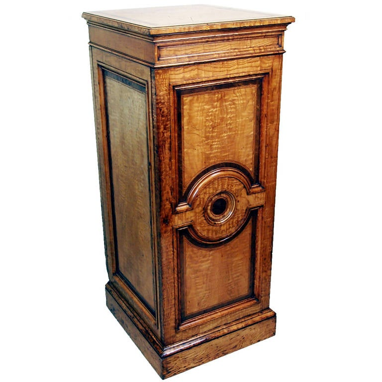 Antique 19th Century Hungarian Ash Cupboard