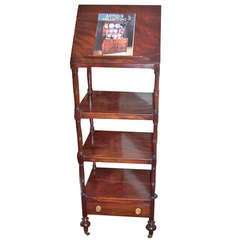 Antique Regency Mahogany Whatnot