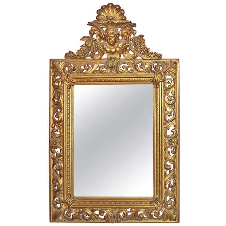 Italian wall mirror for sale at 1stdibs for Mirrors for sale