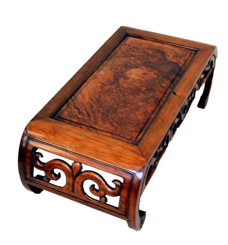 Antique Oriental Hardwood Opium Coffee Table At 1stdibs