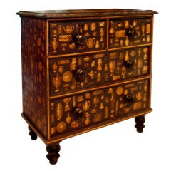 """A Victorian Commode Decorated with """"Découpage"""""""