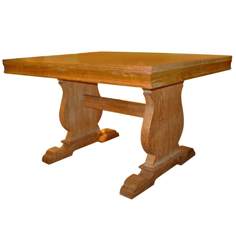 Oakwood table in the style of j c moreux for sale at 1stdibs for Oakwood furniture