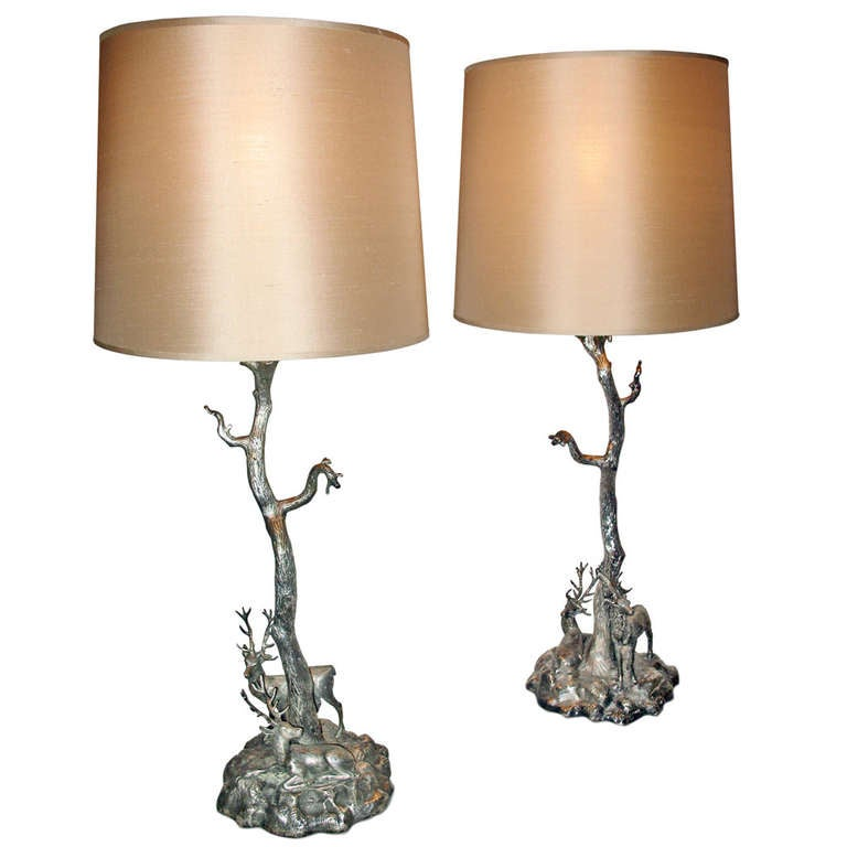 this a pair of tree shaped table lamps is no longer available. Black Bedroom Furniture Sets. Home Design Ideas