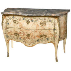 Genoa Rococo Painted Commode