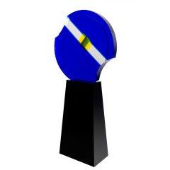 Jean Claude Farhi Sculpture in Methacrylate, Signed Unique Piece