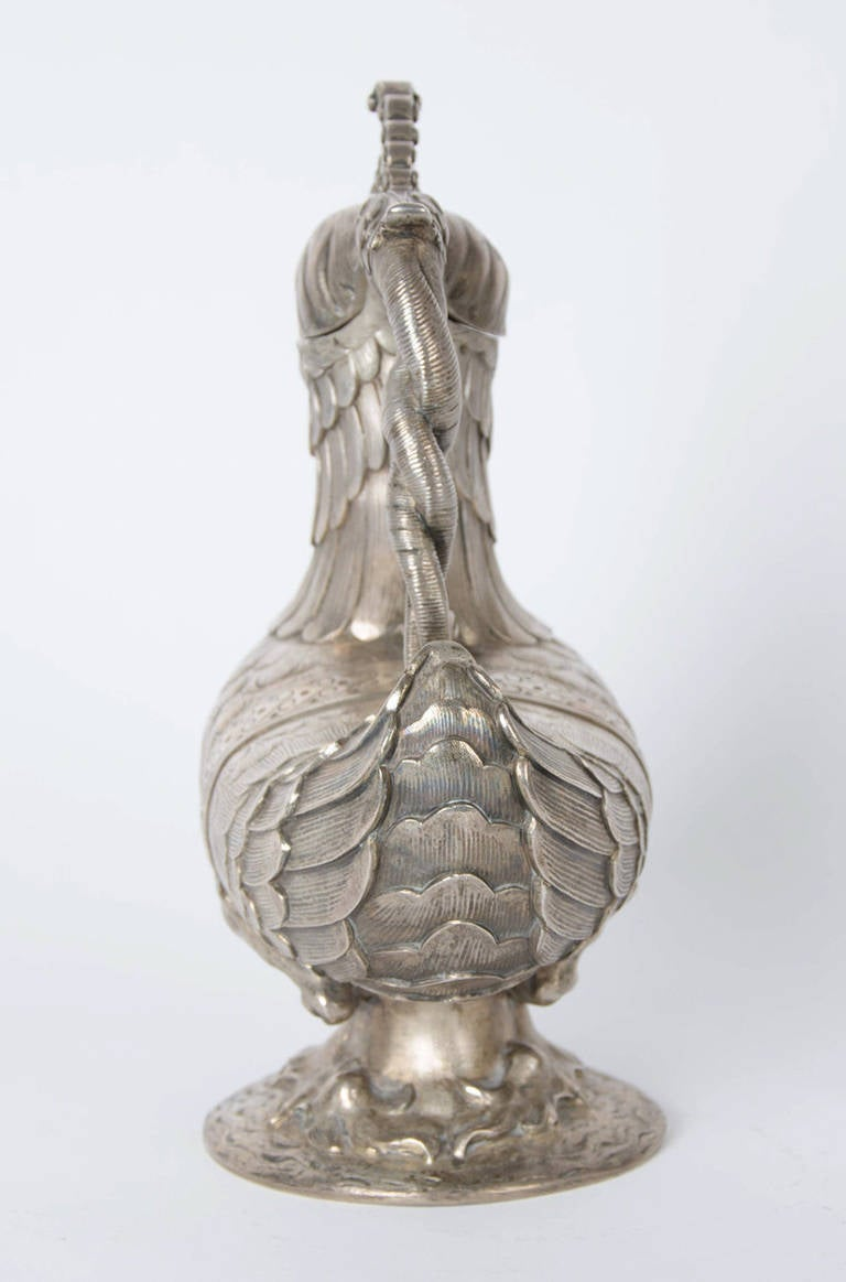 19th Century One Silver Jug For Sale