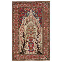 Woven Wool Isfahan Carpet