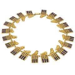 "Line Vautrin, ""Ramsès"" Necklace, France, circa 1945"