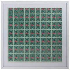 S&H Green Stamps Mailer Invitation by Andy Warhol