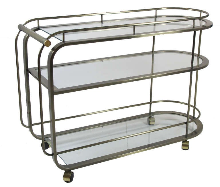 Bar Cart By Dia Design Institute Of America In Bronze