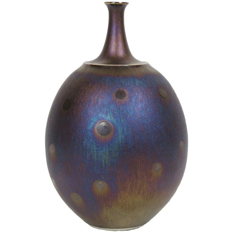 Porcelain Vase by Hideaki Miyamura