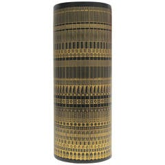 Large Porcelain Floor Vase by Hans Theo Baumann