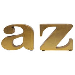 C. Jere Bookends 'A to Z'