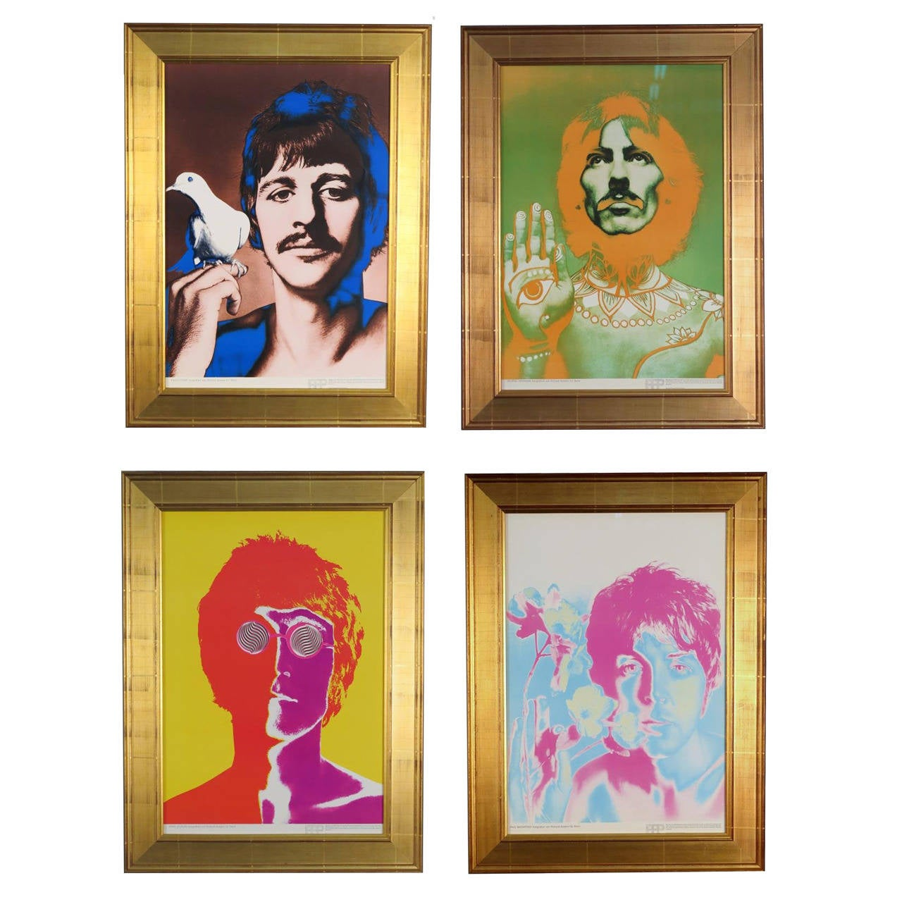 Beatles by Richard Avedon 1967 Posters for Stern Magazine ...