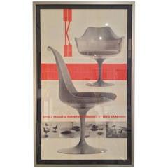 Knoll Saarinen Chair Poster Herbert Matter