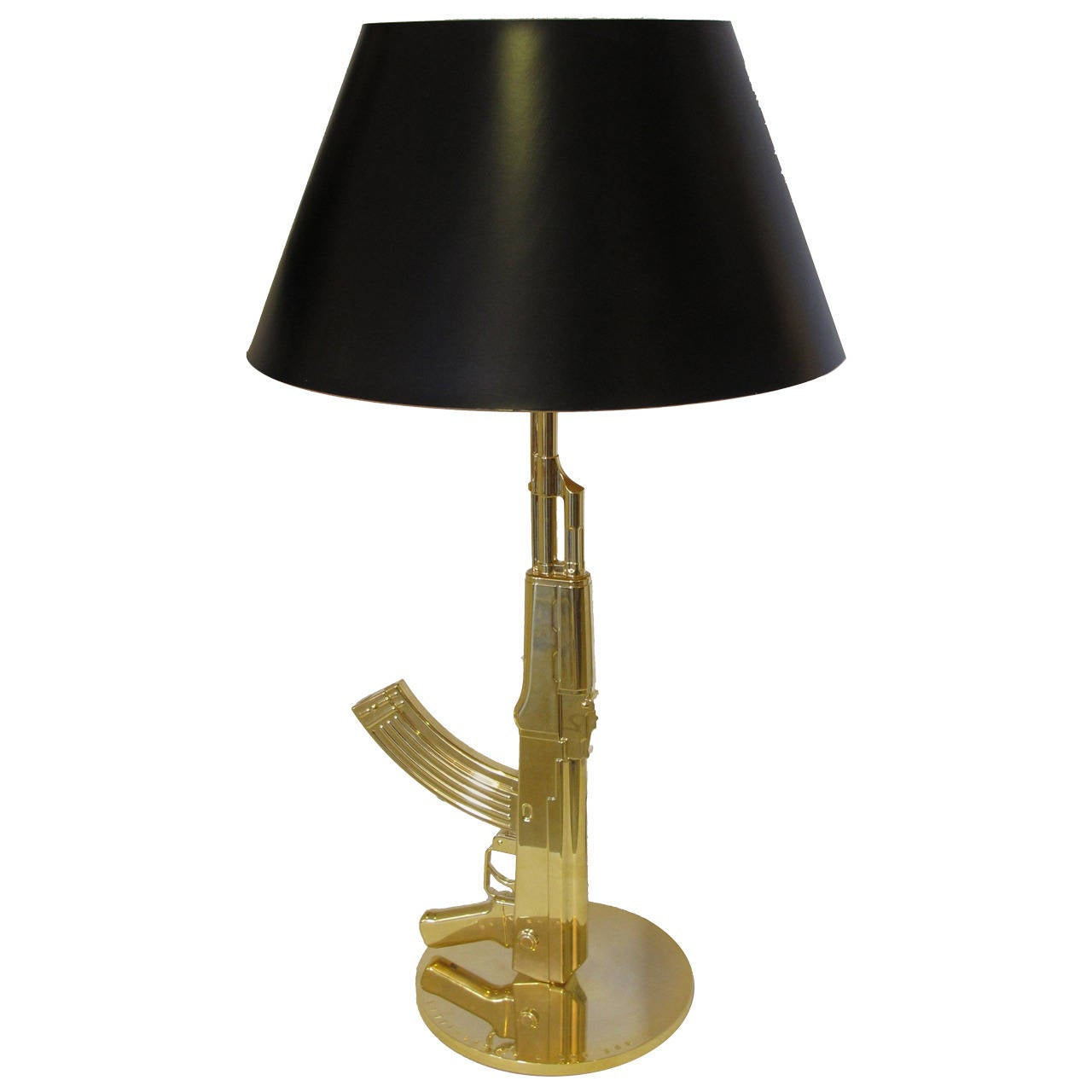 Philippe starck gun lamp at 1stdibs for Philippe starck glass table