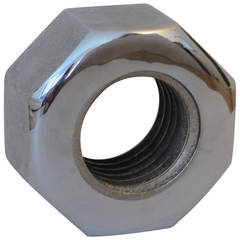 Giant Octagonal Threaded Nut by Bill Curry for Design Line