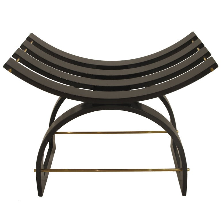 Harvey Probber Slatted Knightu0027s Bench For Sale