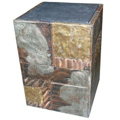 Paul Evans Patchwork Cube Occasional Table