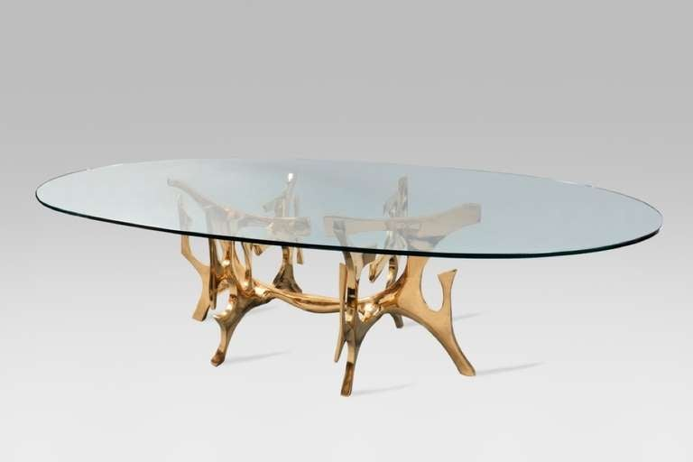 Exceptional table by fred brouard at 1stdibs for Table basse grande dimension