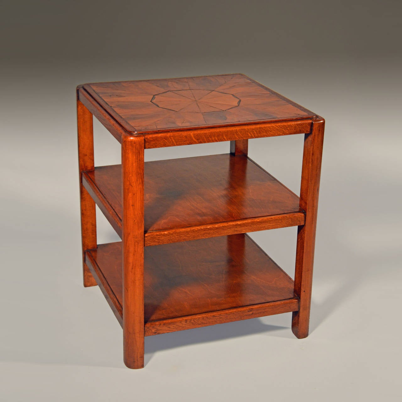 an early 20th century art deco etagere end table for sale. Black Bedroom Furniture Sets. Home Design Ideas