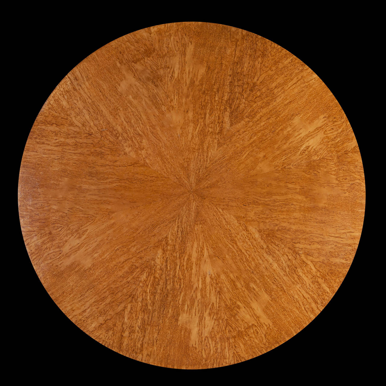 Fine Bird S Eye Maple Coffee Table By Jean Pascaud For