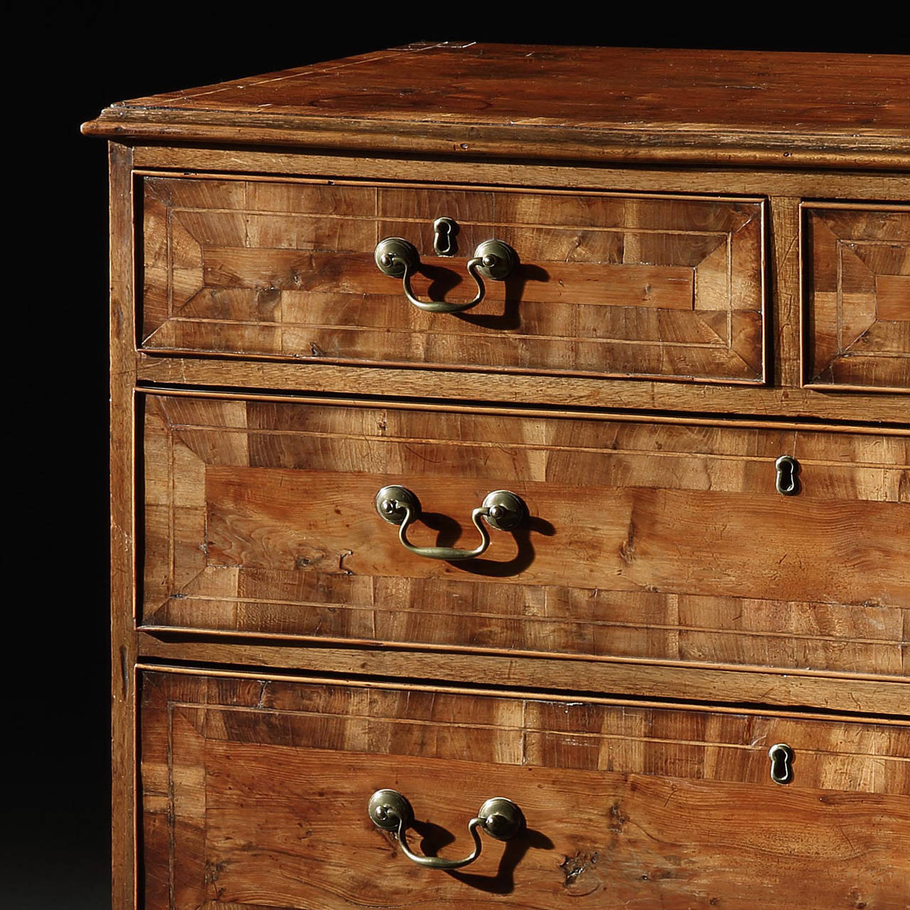 Amazing photo of Rare Yew Wood Chest of Drawers For Sale at 1stdibs with #79411F color and 1280x1280 pixels
