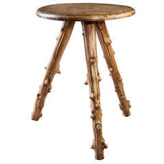 19th Century Rustic Twig Table