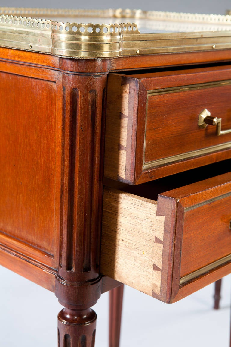 Pair of 19th century bedside cabinets at 1stdibs for 19th century kitchen cabinets