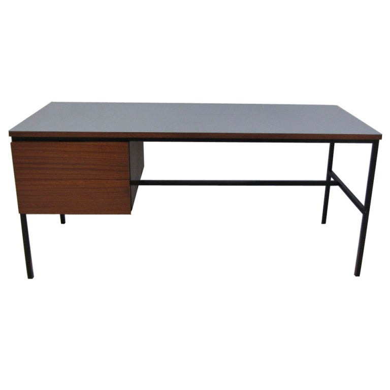 desk pierre guariche at 1stdibs. Black Bedroom Furniture Sets. Home Design Ideas