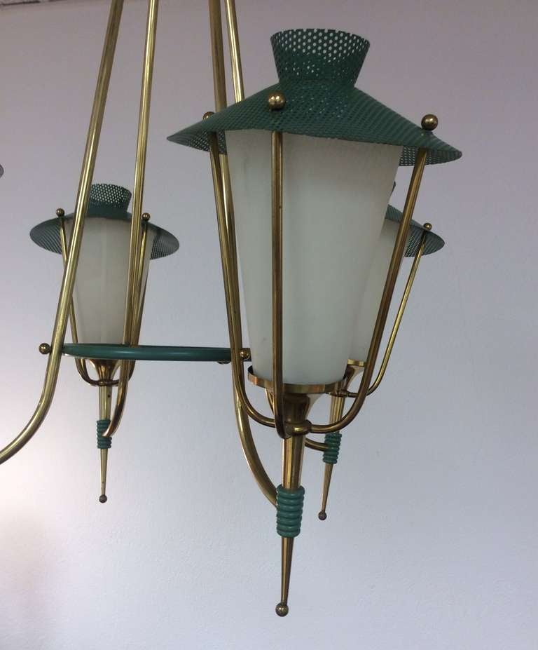 Mid 20th century design rare chandelier for sale at 1stdibs for French furniture designers 20th century