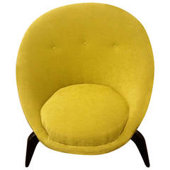 Mid 20th Century Design Crab Claw Chair