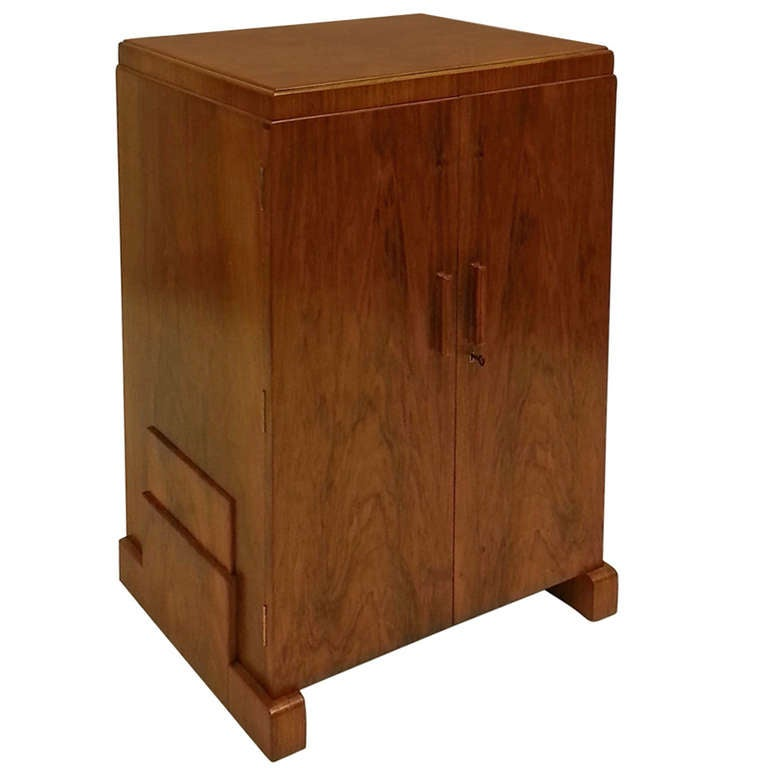 Art Deco Cutlery Cabinet For Sale at 1stdibs